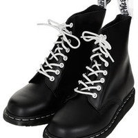 DM-Contrast Lace Up Boots - New In This Week  - New In