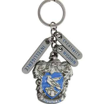 Harry Potter Ravenclaw Crest Metal Charm Key Chain