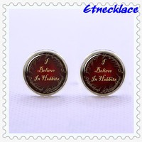 Cufflinks,The Lord Of the Ring  Cufflinks  ,Believe  Cufflinks,Classical Vintage Cufflinks