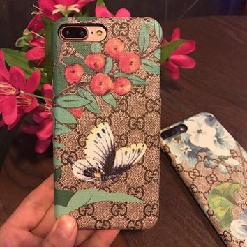 GUCCI iPhone Phone Cover Case For iphone 6 6s 6plus 6s-plus 7 7plus hard shell-1