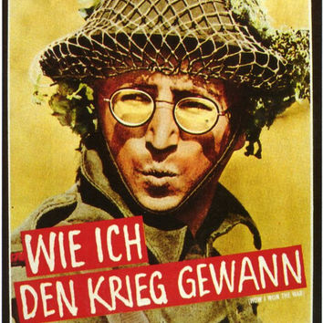 How I Won the War (German) 11x17 Movie Poster (1967)