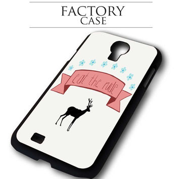 Eat The Rude iPhone for 4 5 5c 6 Plus Case, Samsung Galaxy for S3 S4 S5 Note 3 4 Case, iPod for 4 5 Case