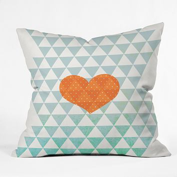 Hello Twiggs A Love Affair Throw Pillow