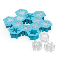 Snowflake Silicone Ice Cube Tray by TrueZoo - Walmart.com