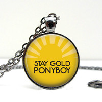 The Outsiders Necklace : Stay Gold Ponyboy