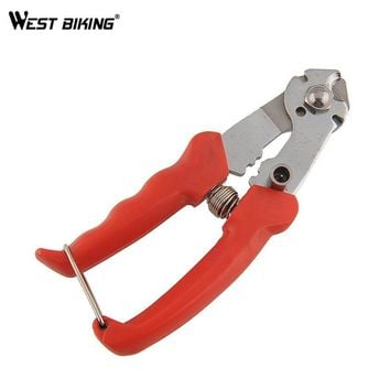 WEST BIKING Bicycle Brake Cable Cutter Inner Outer Brake Gear Shifter Wire Cable Spoke Cutting Clamp Plier Bicycle Repair Tools
