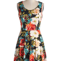 Day Off the Grid Dress in Bright Floral