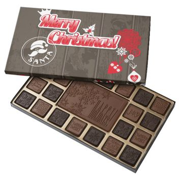 Merry Christmas 45 Piece Box Of Chocolates