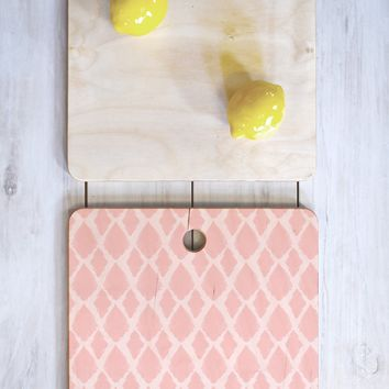 Allyson Johnson Blushed iKat Cutting Board Square