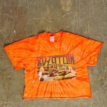 Vintage Led Zeppelin Crop Tee