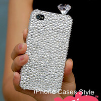 24 colors, Bling Crystals iPhone Cases, iPhone 4 case, iPhone 4s case, iPhone 5 Case, Multicolored Rhinestone iPhone 4 Cases, Samsung Case