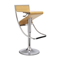 Zee Commercial Grade Modern Bar / Counter Stool Natural