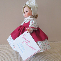 Madame Alexander 8 Inch Vermont Maiden Doll from The Enchanted Doll Series 1991