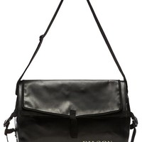 Filson Dry Messenger Bag in Black