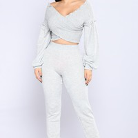When We Love Set - Heather Grey