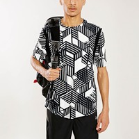 Without Walls Crazy Stripe Technical Tee