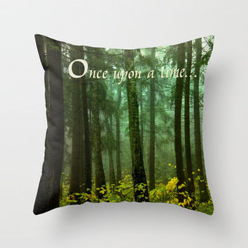 Once upon a time... Throw Pillow by Armine Nersisyan | Society6