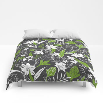Night Garden Comforters by Heather Dutton