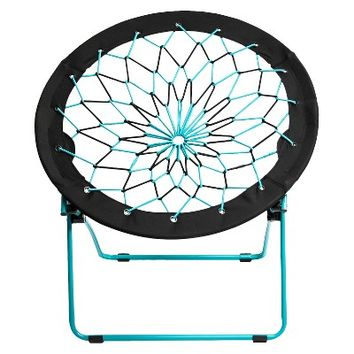 Room Essentials Teal/Black Bungee Chair