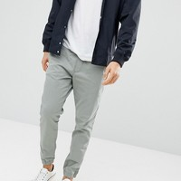 Esprit Slim Fit Woven Jogger with Cuff at asos.com