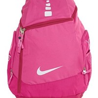 Nike Hoops Elite Max Air Team Backpack Pink Fire/Fusion Pink/White BA4880-661
