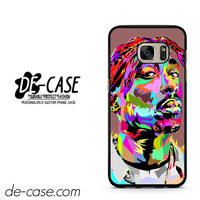 Tupac Retro Art DEAL-11434 Samsung Phonecase Cover For Samsung Galaxy S7 / S7 Edge