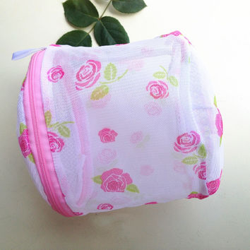2016 Hot Selling 1pc Convenient Bra Lingerie Wash Laundry Bags Home Using Clothes Washing Net