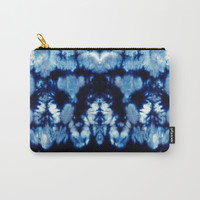 Tie-Dye Shibori Neue Carry-All Pouch by ninamay