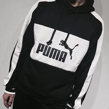 PUMA Woman Men Fashion Hoodie Top Sweater Pullover