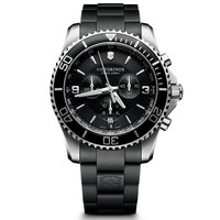 Men's Victorinox Swiss Army Maverick Chronograph Black Watch