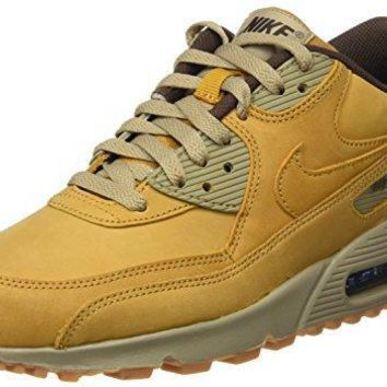 Nike Womens Air Max 90 Winter Running Trainers 880302 Sneakers Shoes (bronze bamboo 70