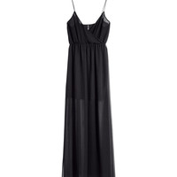 H&M - Maxi Dress - Black - Ladies