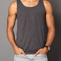 Heathered Tank Charcoal Heather