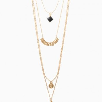 Harper Pre-Layered Pendant Necklace | Charming Charlie
