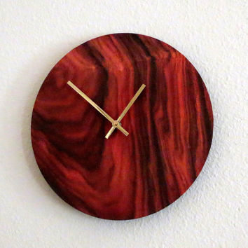 Rustic Wall Clock, Unique Clock, Home and Living, Home Decor, Deocr and Housewares, Unique Gift