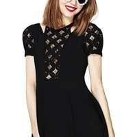 Nasty Gal Dark Wave Dress