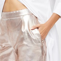 Free People Metallic Pant