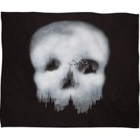 Viviana Gonzalez Dark City Fleece Throw Blanket
