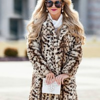 Leopard Goddess Coat