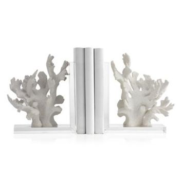Coral Bookends - Set of 2 | Books & Stationery | Novelty | Decor | Z Gallerie