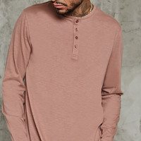 Henley Long-Sleeve Tee