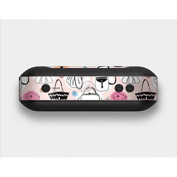 The Subtle Pink And Purses Skin Set for the Beats Pill Plus