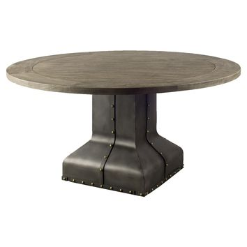 Kindle Dining table Industrial Rustic