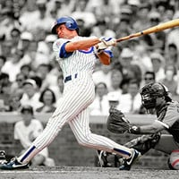 "Ryne Sandberg Chicago Cubs MLB Action Photo (Size: 8"" x 10"")"