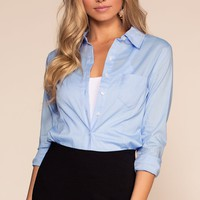 Clean Chic Top - Blue
