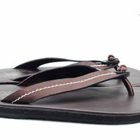 Ancient Greek Roma Sandals Genuine Leather Chamois Leather Shoes Flip Flops Slippers Vintage Women Handmade
