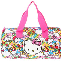 "Hello Kitty ""Rainbow Party"" Duffle"