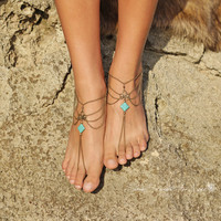 Fashion Gold Chain Anklet Foot Ankle Women Lady Jewelry Elegant = 4473487748