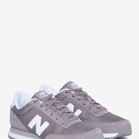 New Balance 501 Suede Sneaker - Gray