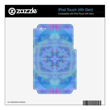 Blue Dancer iPod Touch 4G Decal